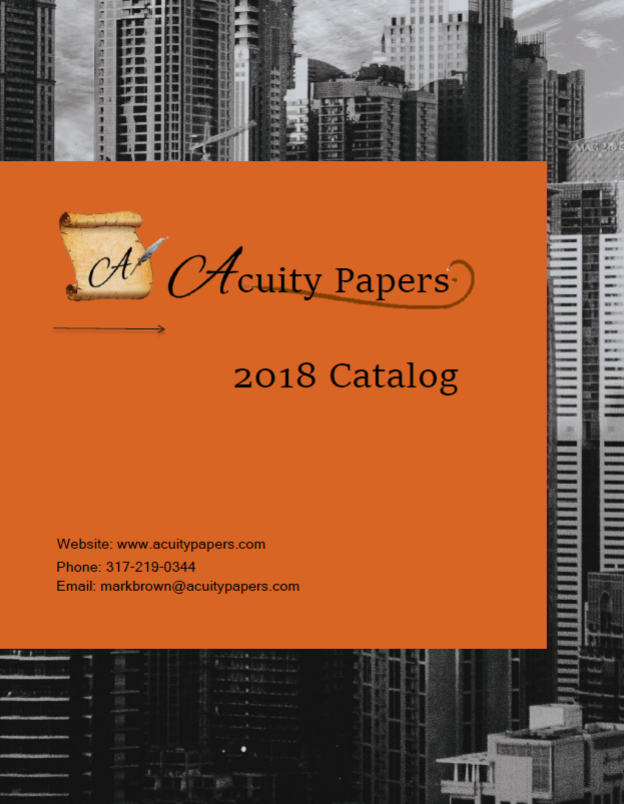 Acuity Papers 2018 Catalog